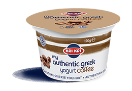 MY AUTHENTIC GREEK YOGURT 0% CAFÉ 150g