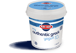 MY AUTHENTIC GREEK YOGURT 10% 1kg