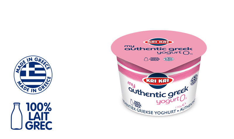 MY AUTHENTIC GREEK YOGURT 0% 170g