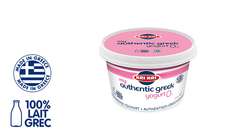 My Αuthentic Greek yogurt Yaourt Grec Maigre 0% m.g. 500g