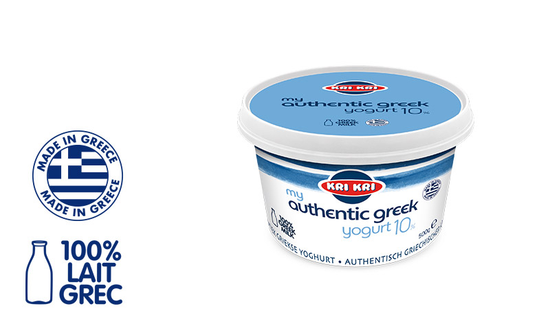 My Αuthentic Greek yogurt Yaourt Grec Entier 10% m.g. 500g